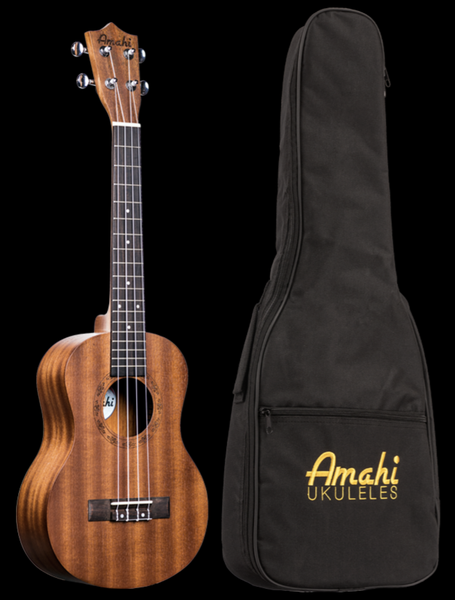 Image of Amahi Mahogany Tenor Ukulele w/Soft Case