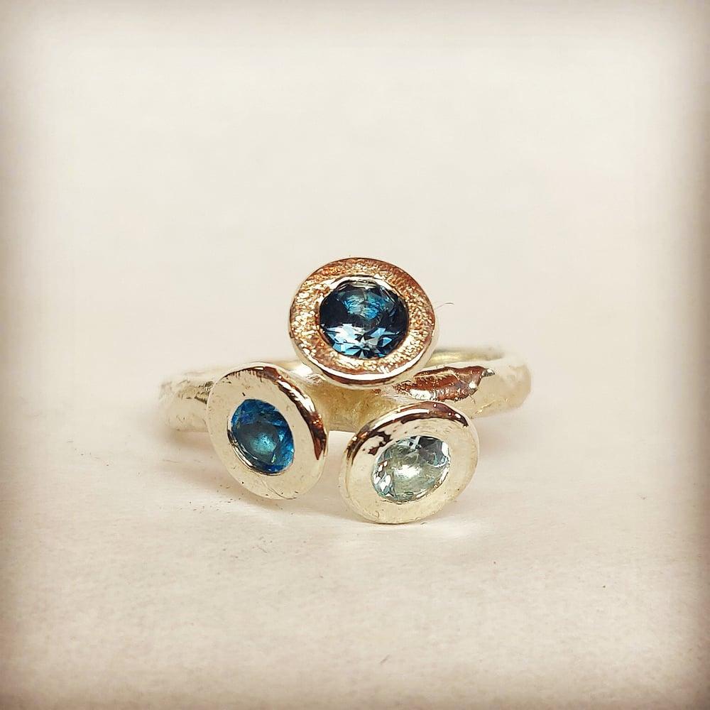 Beeld van Silver Topaz ring