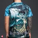 """Running Wild """"Under Jolly Roger"""" Allover T-shirt"""
