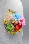 Feather Coral Brooch