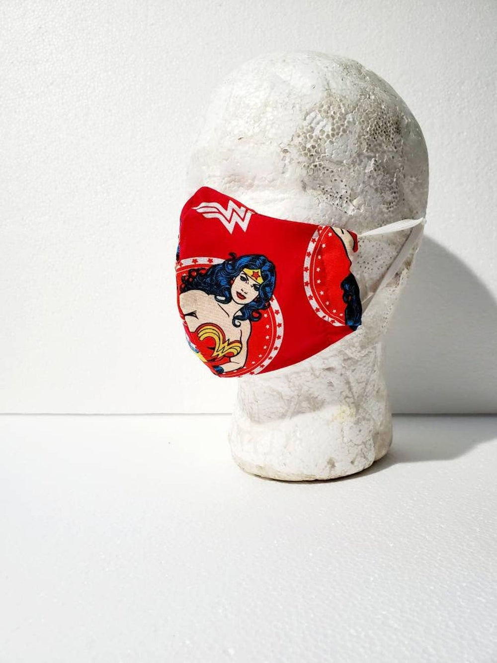 Wonder Woman Fitted Face Mask Multiple Sizes Available