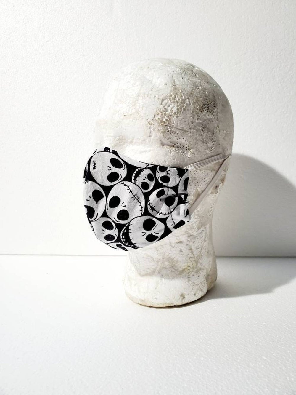 Jack Skellington Fitted Face Mask Multiple Sizes Available