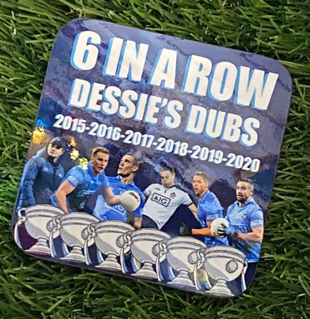 Dublin 6 in a row Coaster