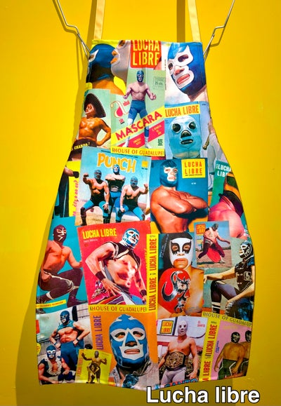 Image of Aprons 3 / Mandiles 3 (exclusive design by House of Guadalupe)