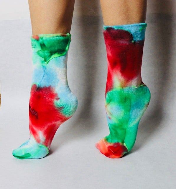 Image of Self-Love Glow in the Dark Socks