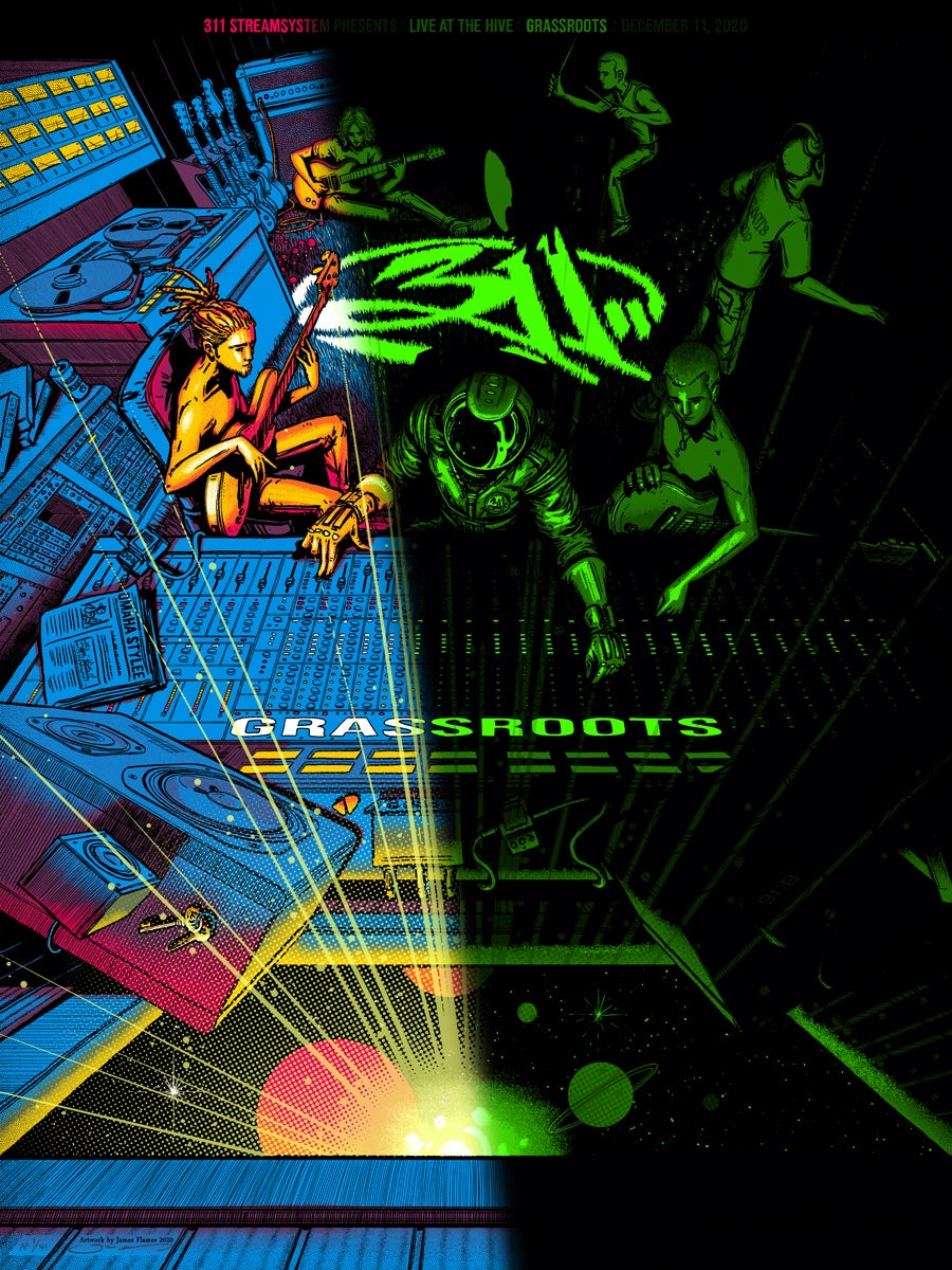 Image of 311 - Grassroots 2020 - Glow-in-the-Dark
