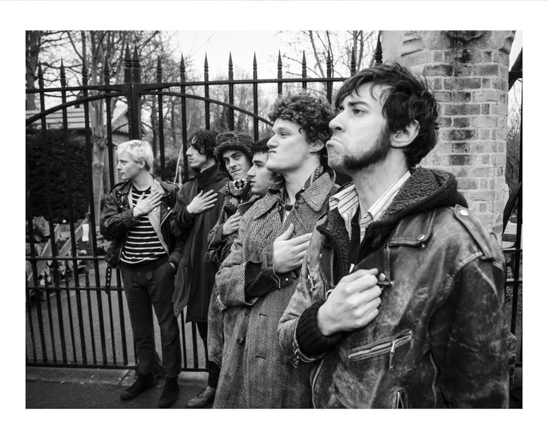 Image of Fat White Family 'Solidarity' at Highgate Cemetery Photographic Print