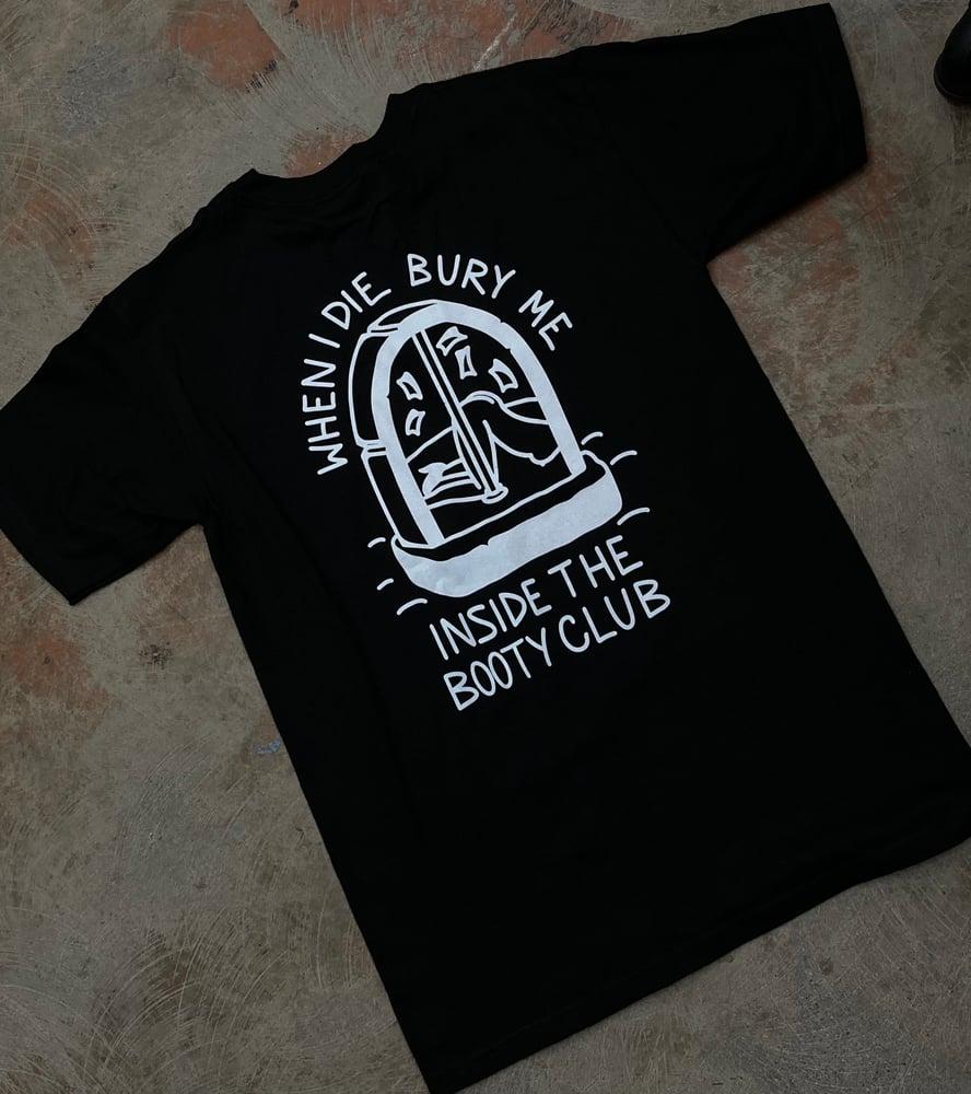 "Night Crimes ""Booty Club"" Tee Shirt"