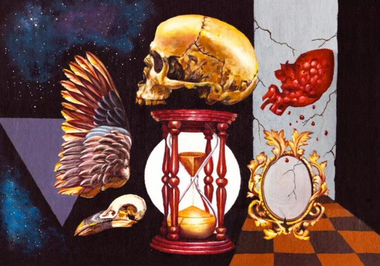 Image of Visions of Mortality IV limited edition artprints