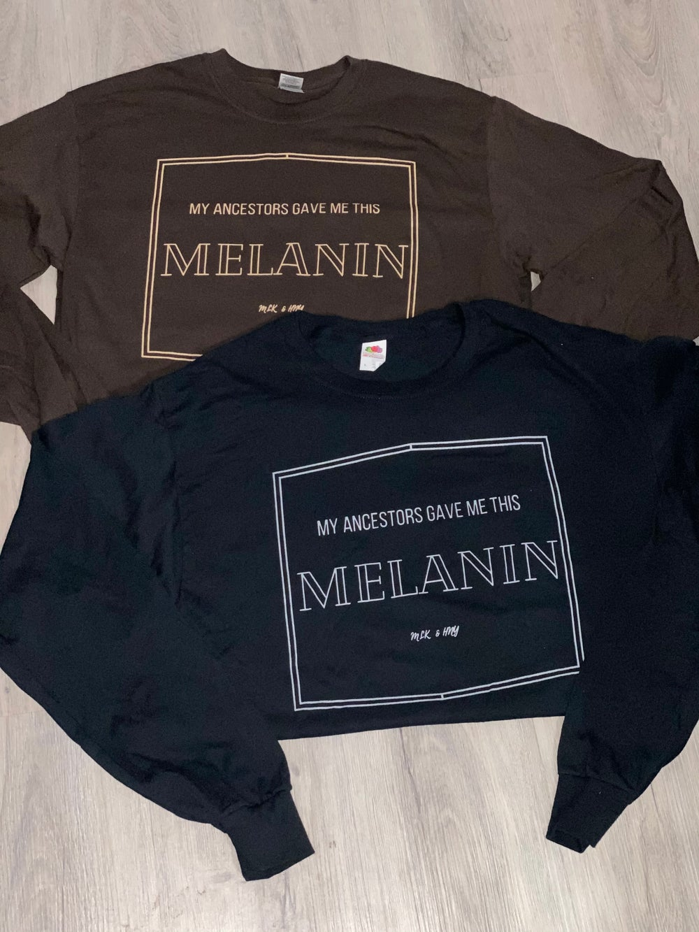 Melanin Long Sleeve Crew