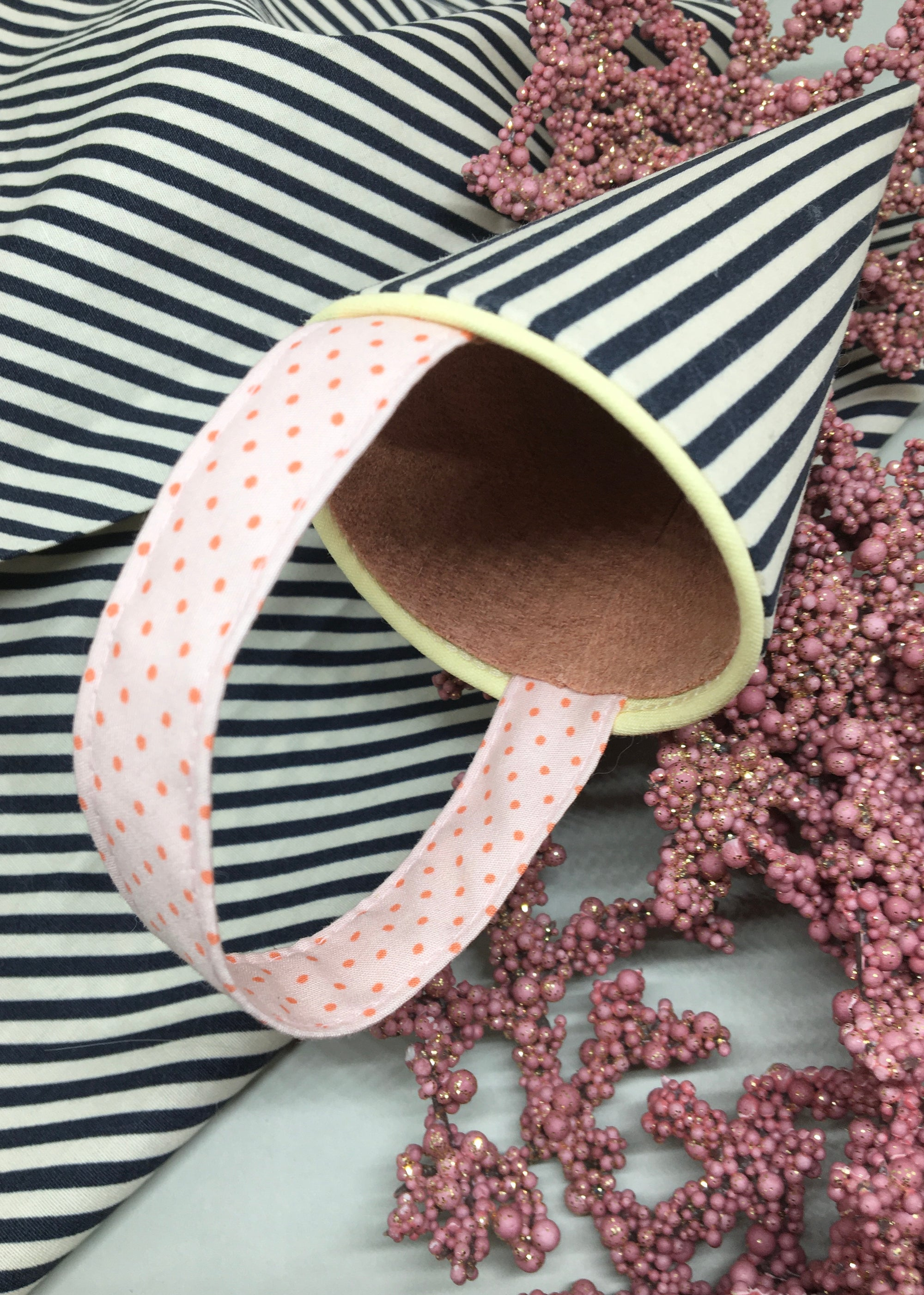 Image of Stripes & Pink Dots