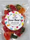 Sour Bears with Lemon Dust