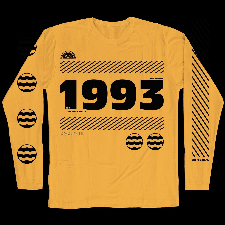 Forum Birthday 1993 Gold longsleeve (Ltd to 30)