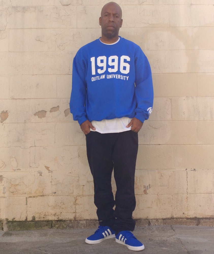 Image of 1996 Crewneck - Comes in Black, Red, Grey, Navy Blue, Royal Blue-CLICK HERE TO SEE ALL COLORS