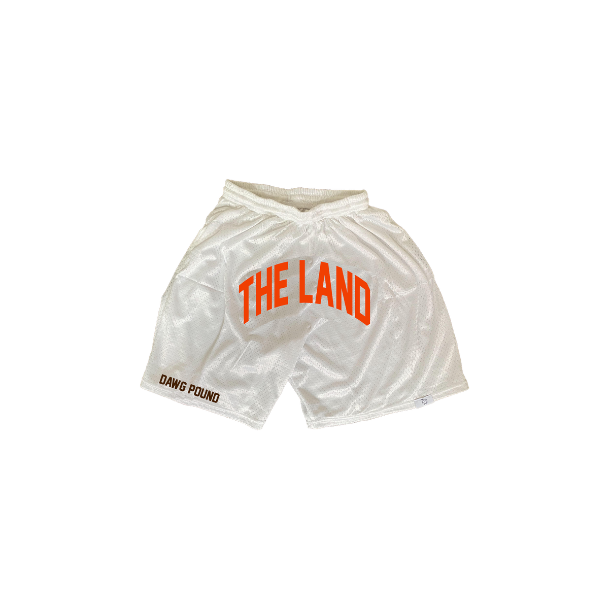 "The Land ""Dawg Pound"" White Shorts"