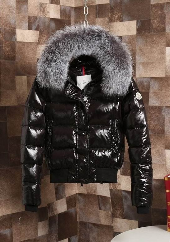 Image of Lux Gloss Puffer Coat