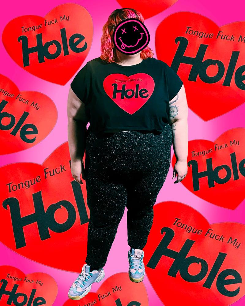 "Image of Tongue Fuck My ""Hole� - Bootleg T-Shirt (PREORDER!)"