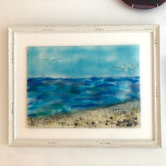 Image of Large framed seascape