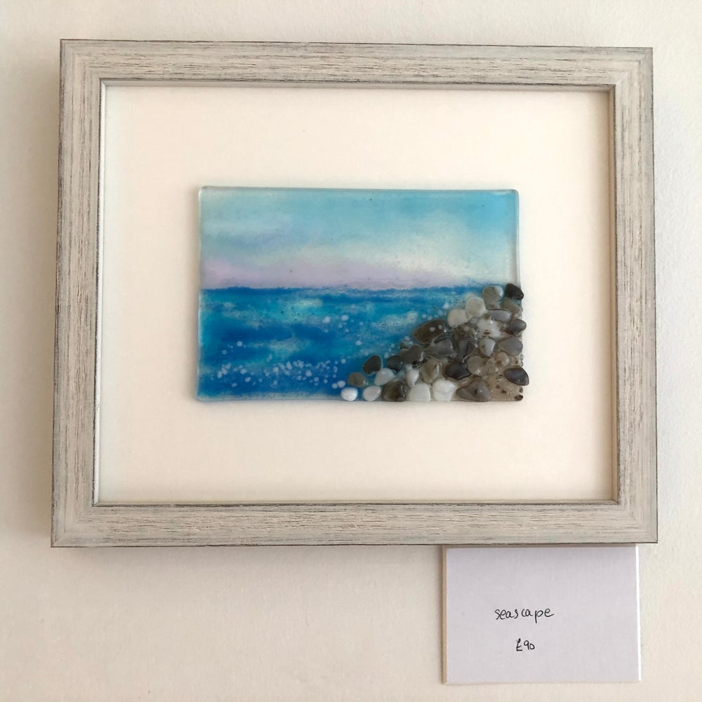 Image of Small framed seascape
