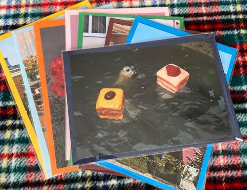 Image of Merry (seal) - greeting cards  with envelope (2)