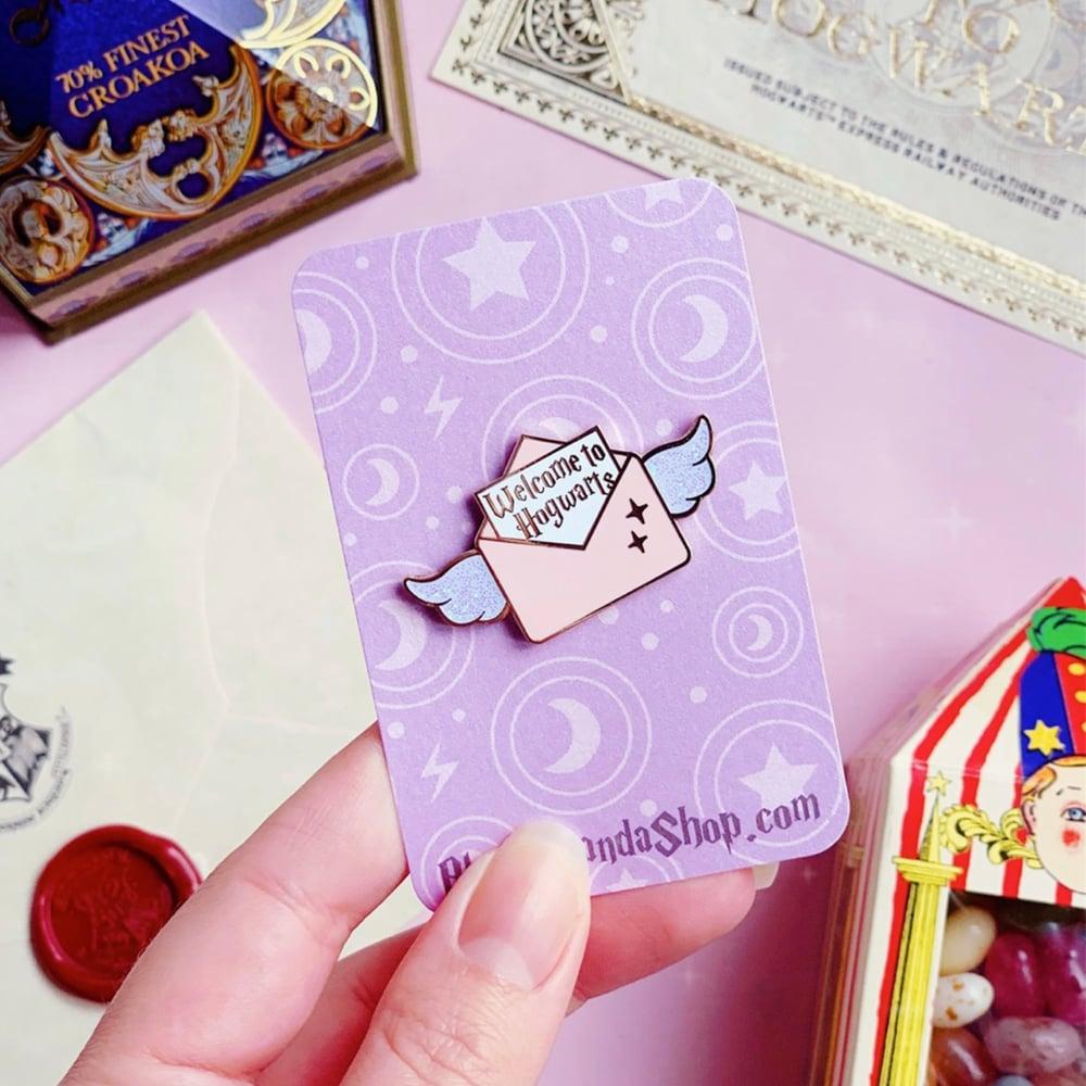 Image of Hogwarts letter