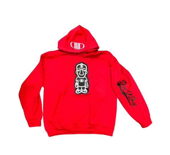 Red/Black Character Hoodie