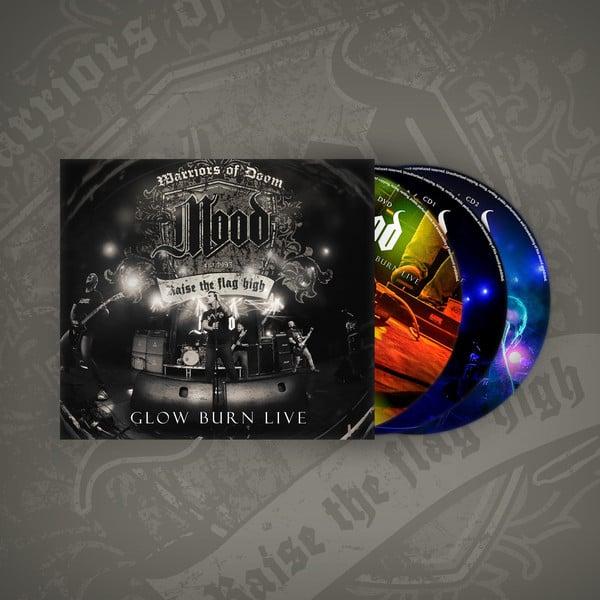 Image of MOOD - Glow Burn Live DVD + 2 CDs Digipack