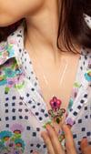Deli Pendant - Liberty - Précieux pendentif brodé