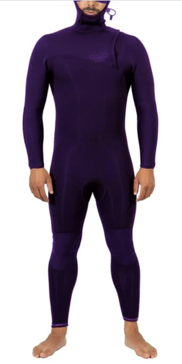 Image of Janga Winter Wetsuit PHANTOM BLOT PURPLE