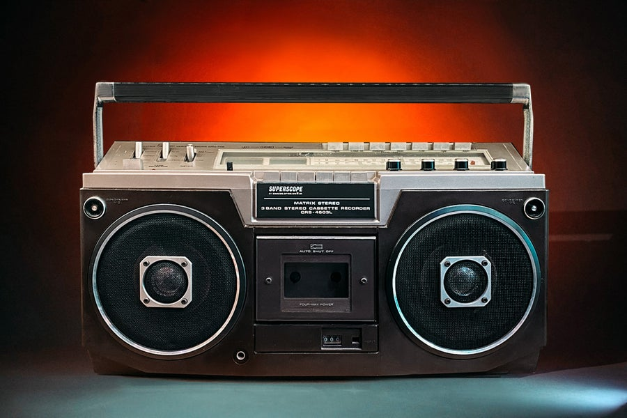 Image of MARANTZ SUPERSCOPE (1978) BLUETOOTH BOOMBOX