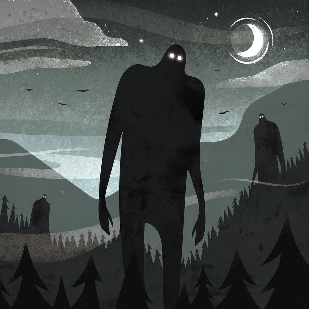 Image of IFS020: Taiko - Giant Big Man EP + Artwork Print [FULL SLEEVE ARTWORK]