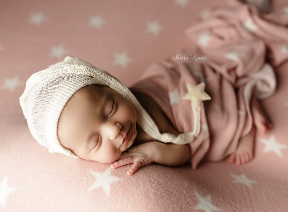 Image of Cashmere Cozy Twinkle - pink