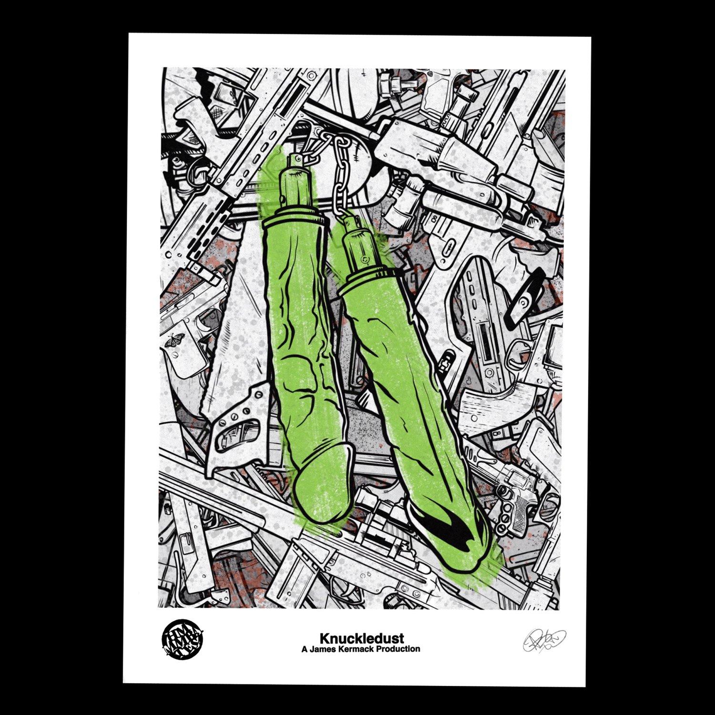Image of Hmmmbates official Alternative knuckledust poster print