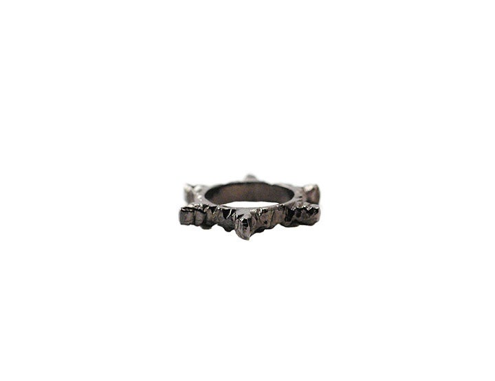 Image of Gunmetal Stone Age Ring