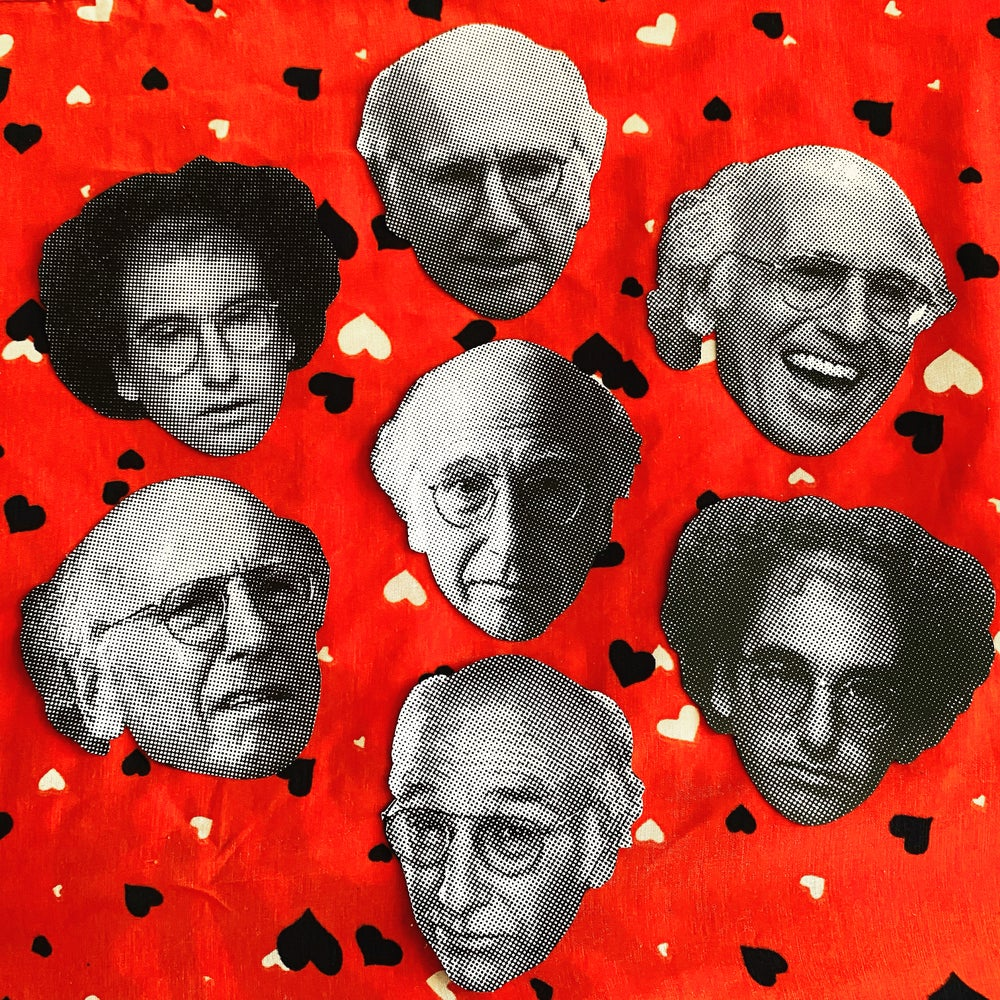 Image of Larry David sticker pack