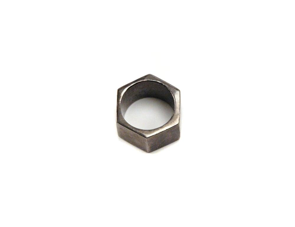 Image of Gunmetal Nut Ring