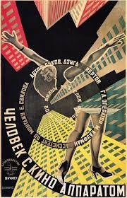 "Image of "" Man With A Movie Camera."" 1922, by brothers Steinberg. TSHIRT/POSTER."