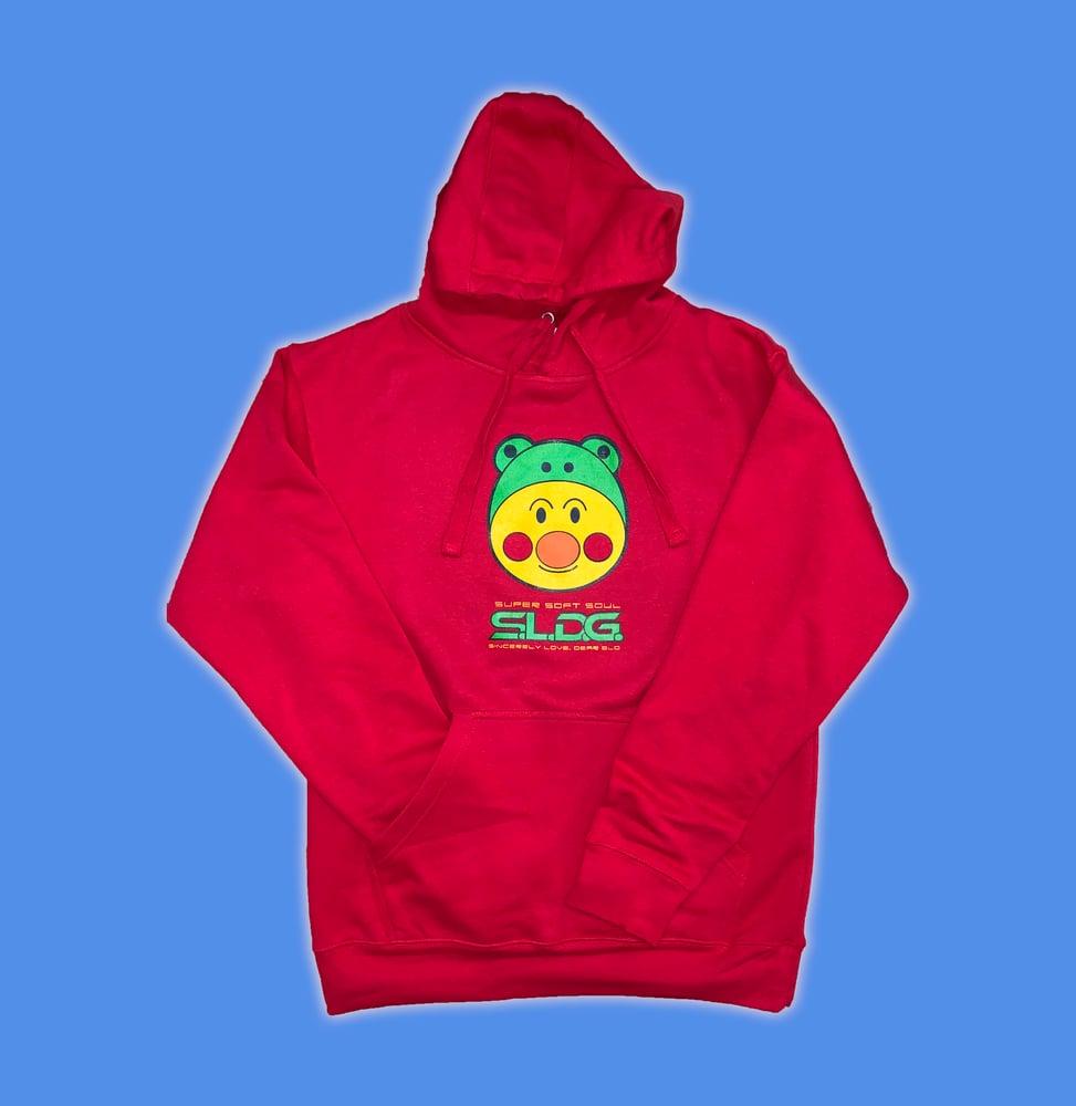 Image of Frog Hat Man Hoodie - Presale