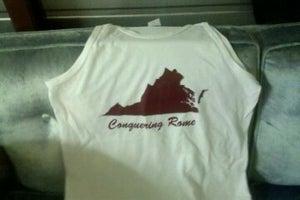 Image of White Conquering Rome Tank Top