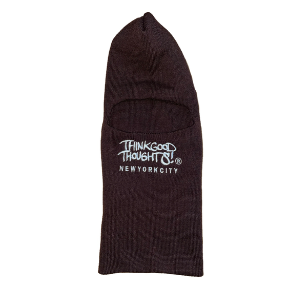 Image of Original Logo Ski Mask - Brown
