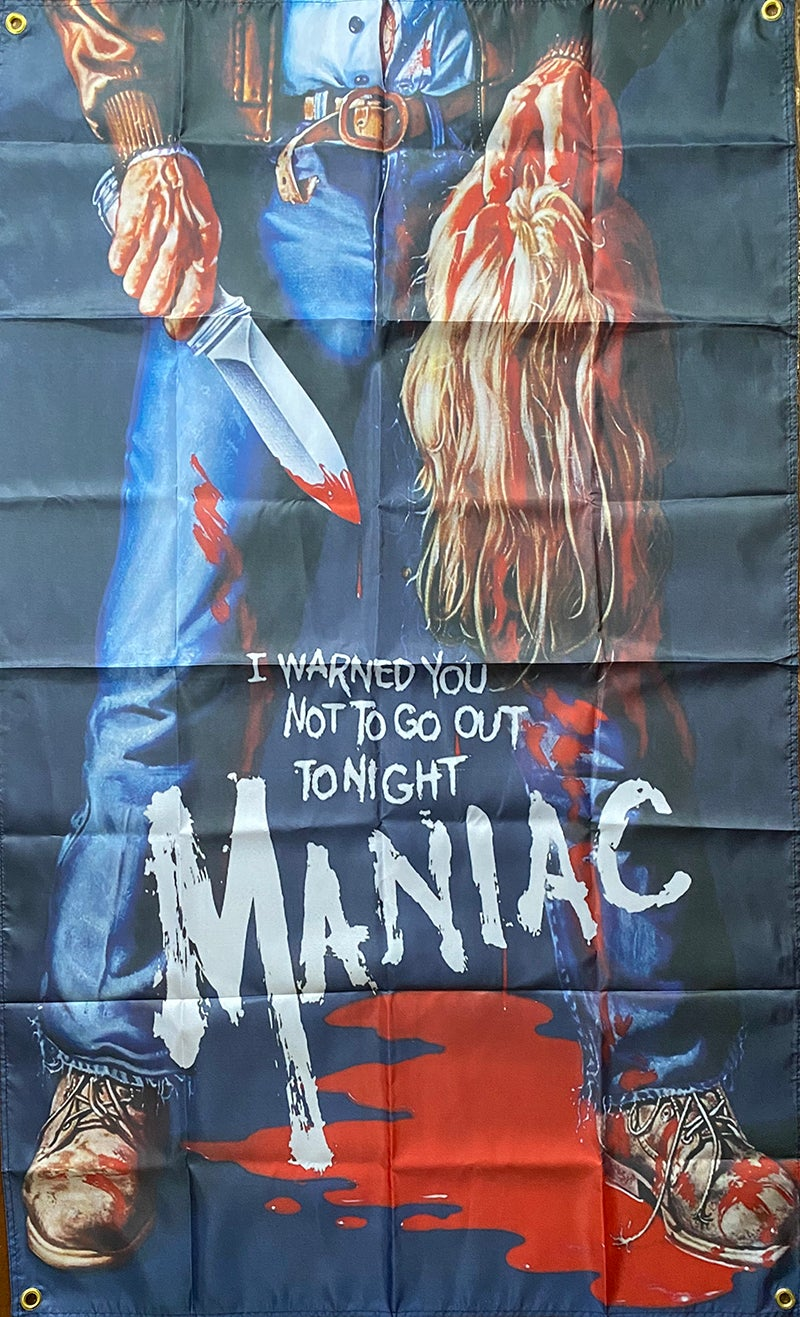 Image of Maniac - Flag / Banner / Tapestry