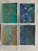 Marbled Notecards Assortment II