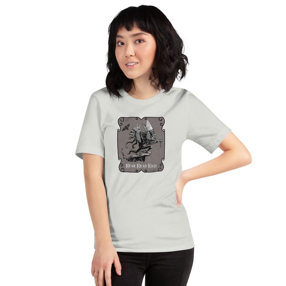 "Image of ""Fishy Pope"" (Silver) Short-Sleeve Unisex T-Shirt"