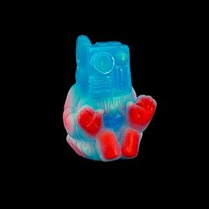 Image of Mini Cinematron - Blue Glow Painted