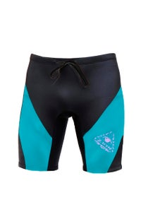 Image of CORELORD 2mm WETTY TRUNKS  <BR> BLACK/AQUA