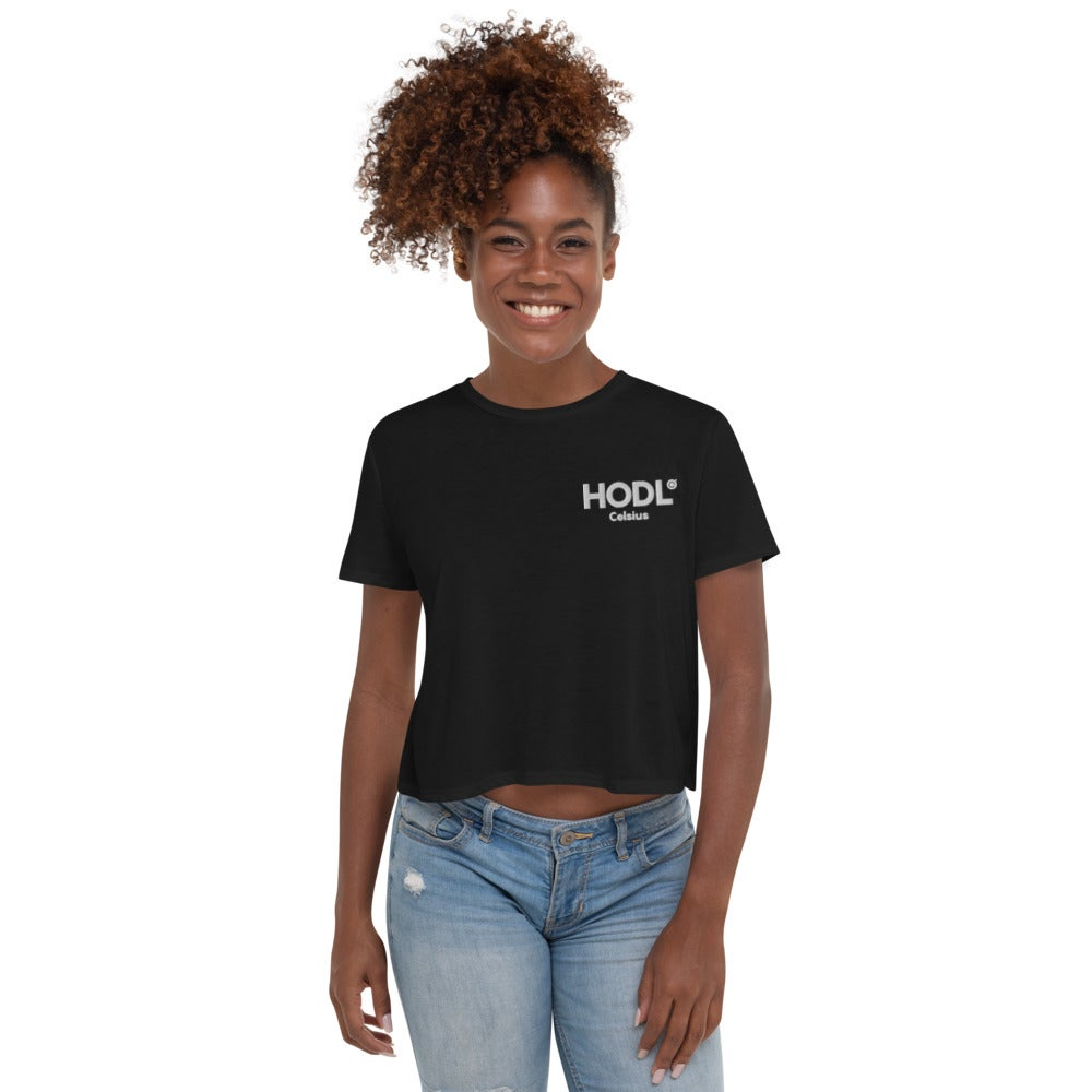 Image of HODL Crop Tee