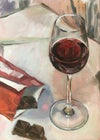 Life's Pleasures, still life oil painting
