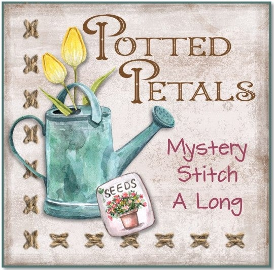 Potted Petals Mystery Stitch a Long Block #8 Kit Presale