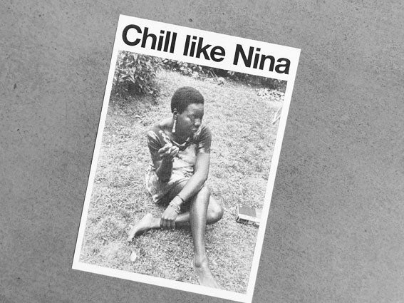 Image of RISOPRINT Chill like Nina