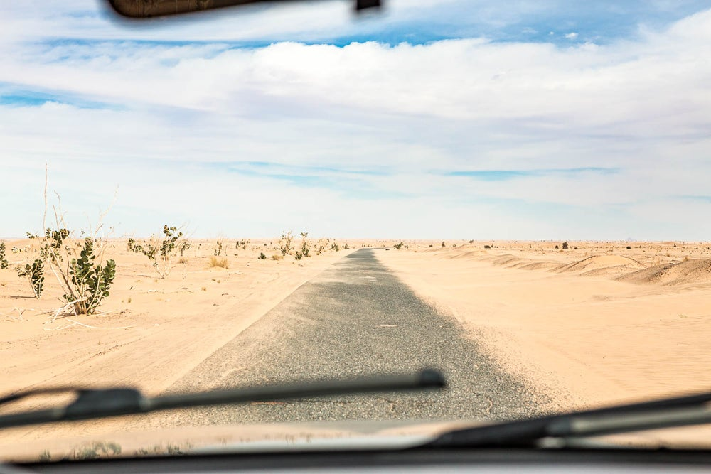 Image of The road - Mauritania